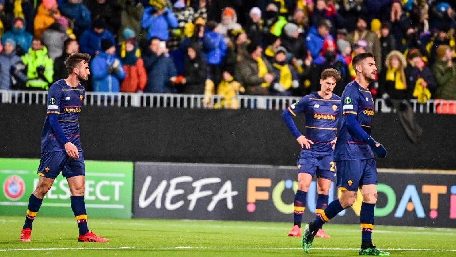 "Kết quả Europa Conference League: Tottenham thất thủ, AS Roma ""thảm bại"" trước Bodo/Glimt"
