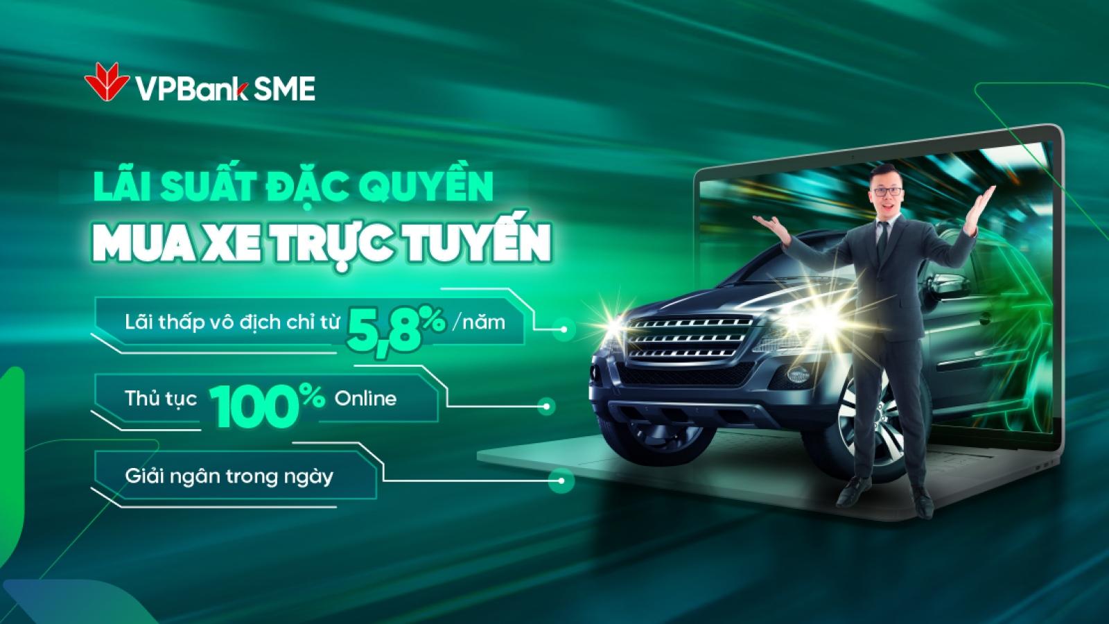 """Doanh nghiệp vay mua ô tô """"siêu tốc"""" chỉ trong 4h với lãi suất 5,8%/năm tại VPBank"""