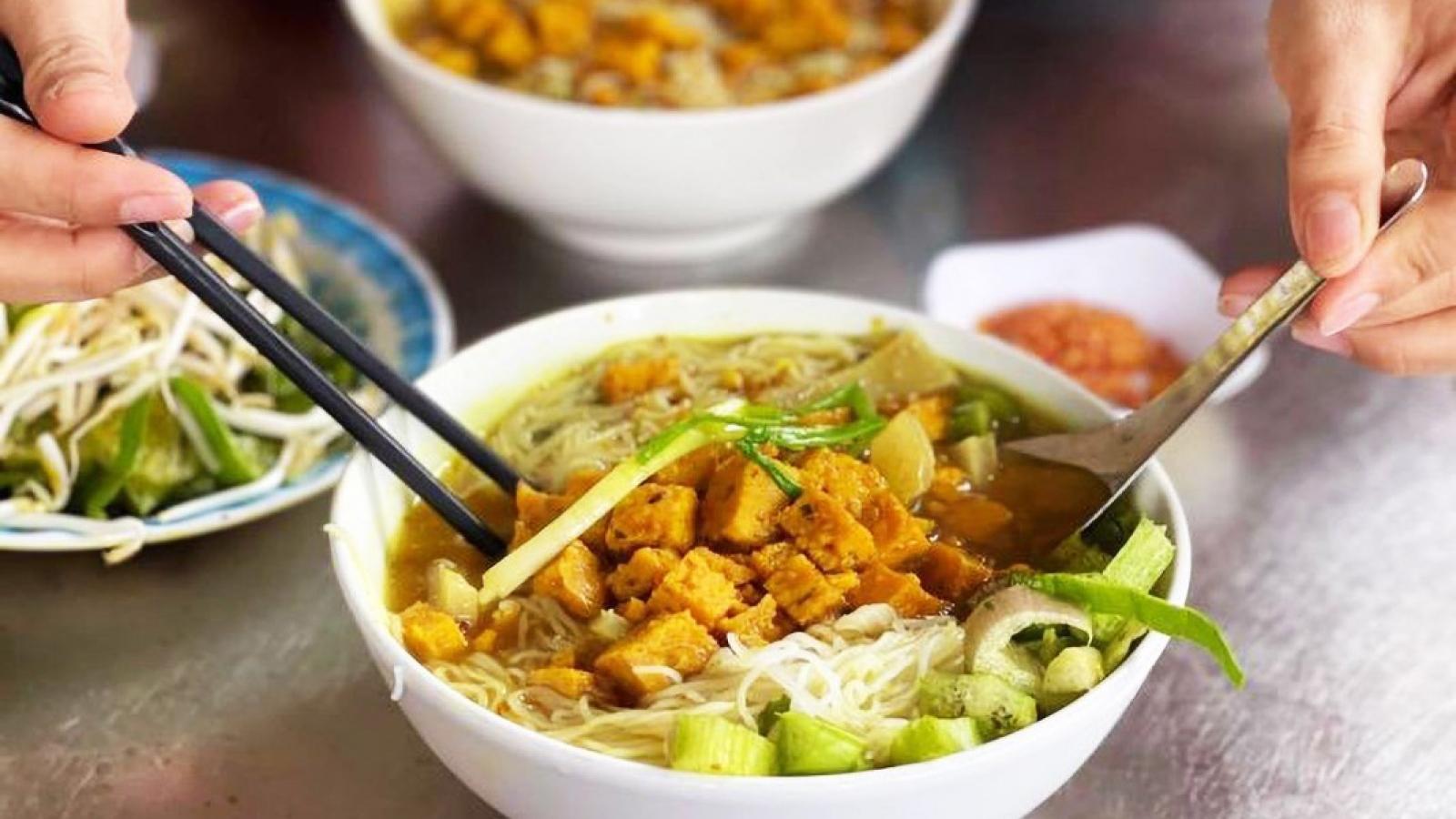 Khmer specialty in Long An