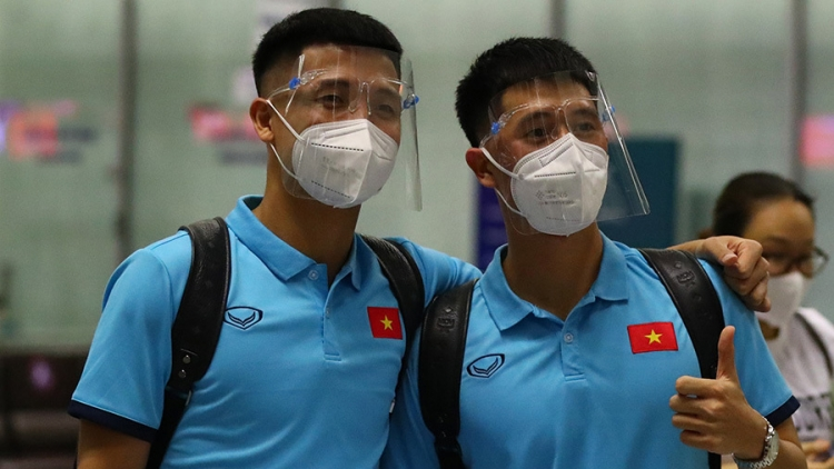 Vietnamese team arrive in UAE ahead of World Cup qualifier against China