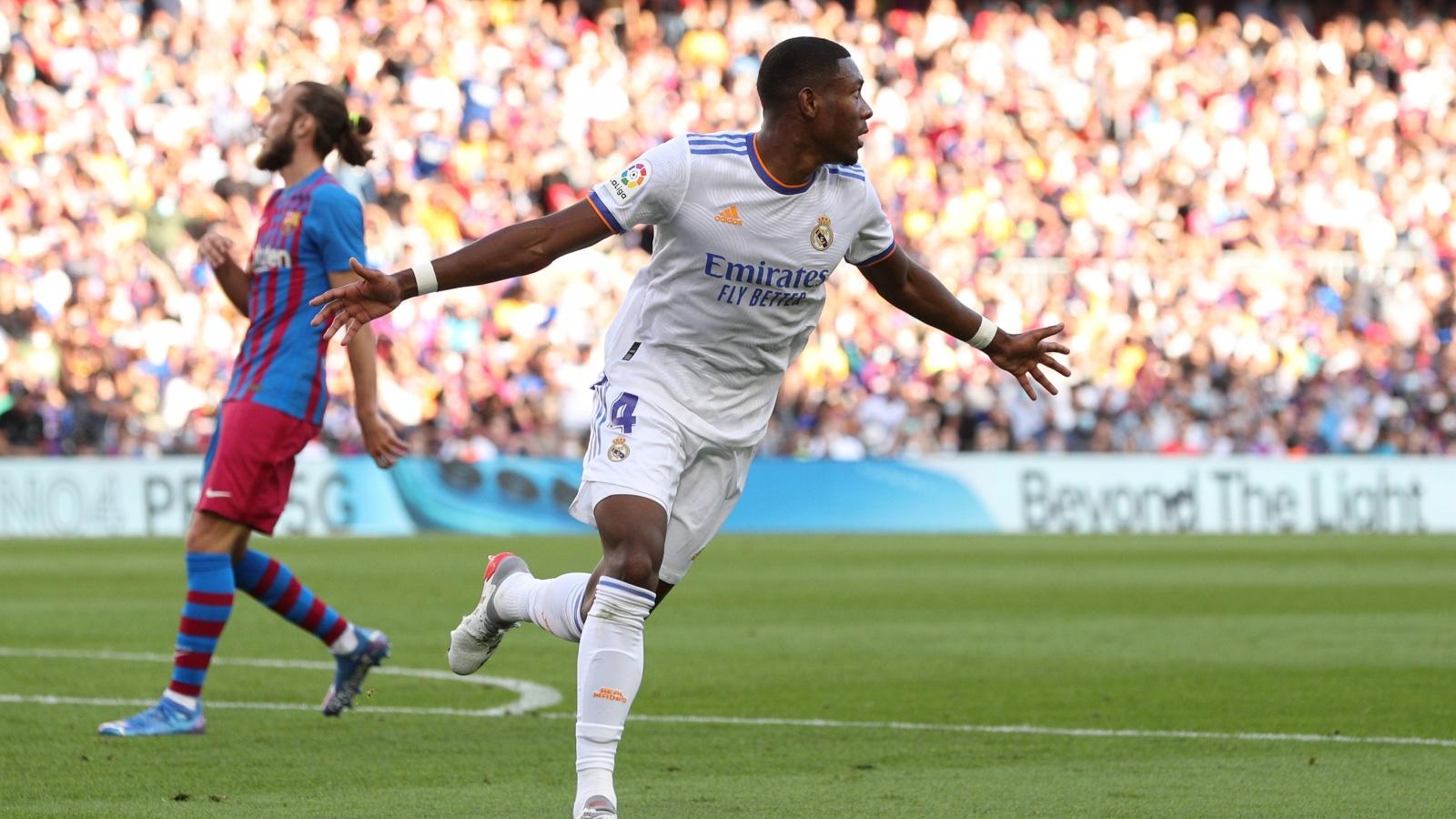 TRỰC TIẾP Barca 0-1 Real Madrid: David Alaba ghi bàn đẳng cấp