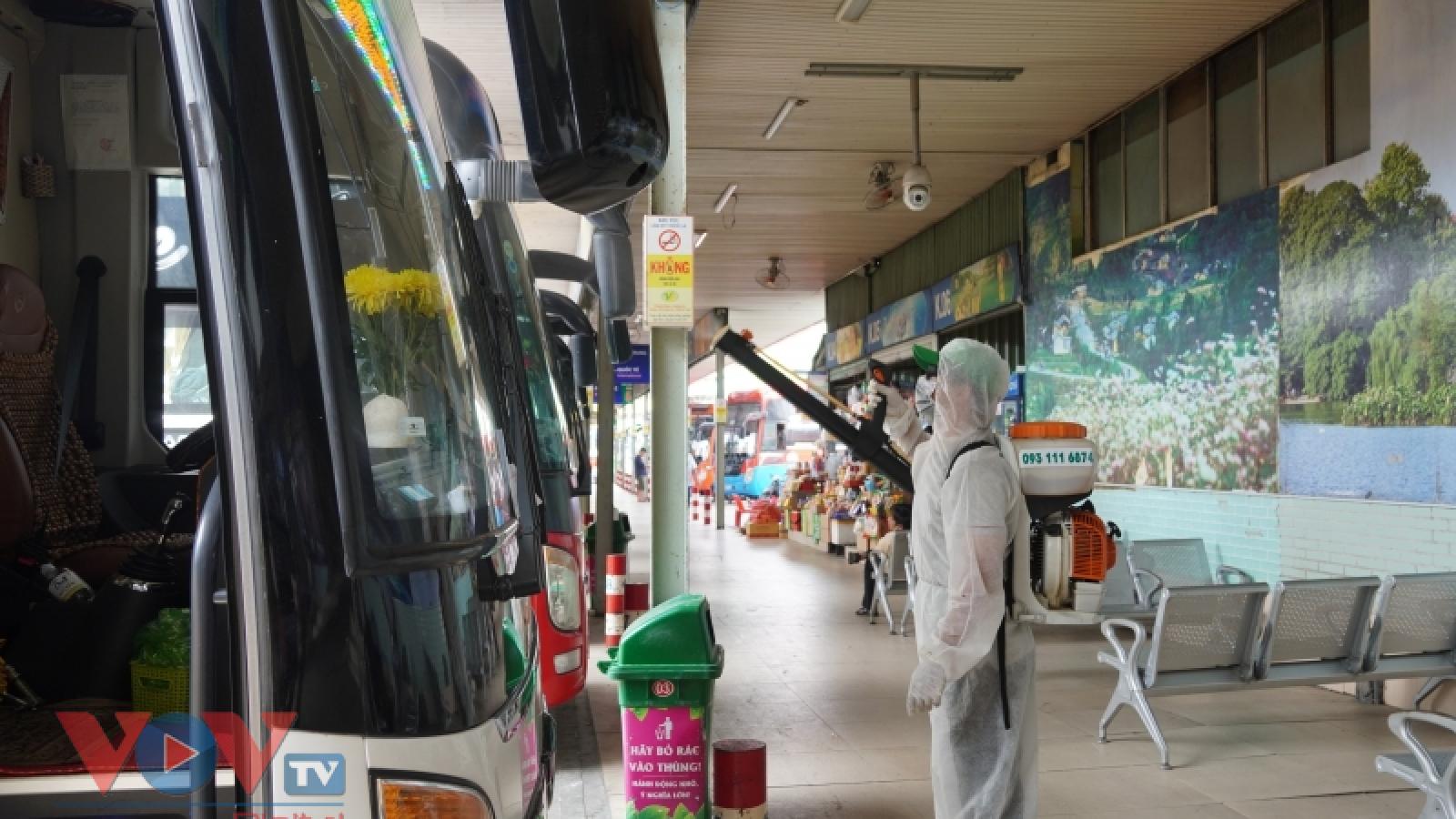 CDC Hà Nội thông báo khẩn tìm người trên chuyến xe từ TP.HCM ra Hà Nội