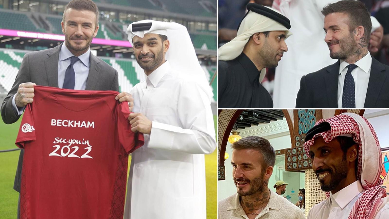 """David Beckham sắp ký hợp đồng """"siêu khủng"""" với nước chủ nhà World Cup 2022"""