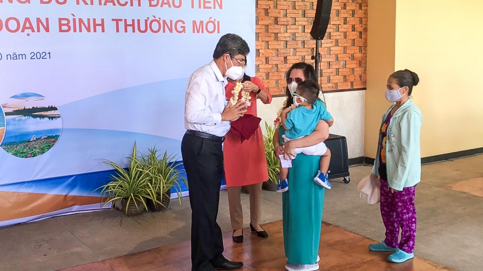 Bình Thuận bắt đầu đón khách du lịch ngoại tỉnh