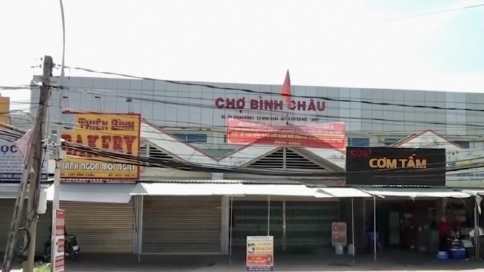 BàRịa – Vũng Tàu:Phát hiện chùm ca nhiễm mới, phong tỏa tạm thời xã Bình Châu