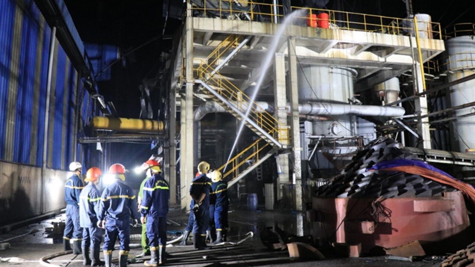 Nổ lò hơi ở công ty gạch ốp lát ở Bắc Ninh, 3 người chết