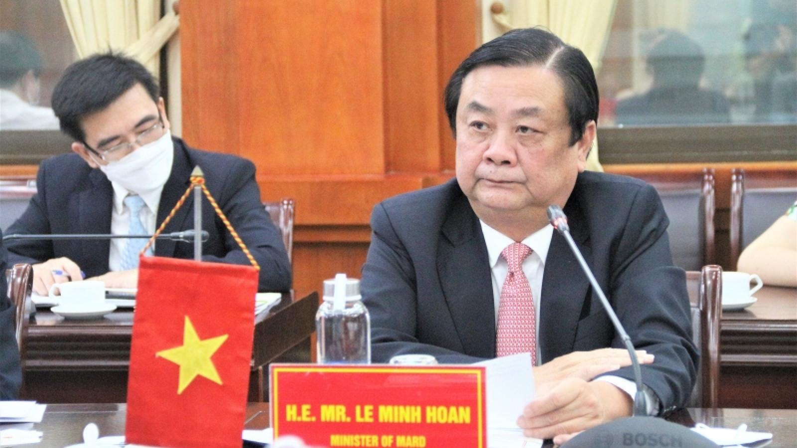 Việt Nam kêu gọi các doanh nghiệp của EU đầu tư nông nghiệp công nghệ cao