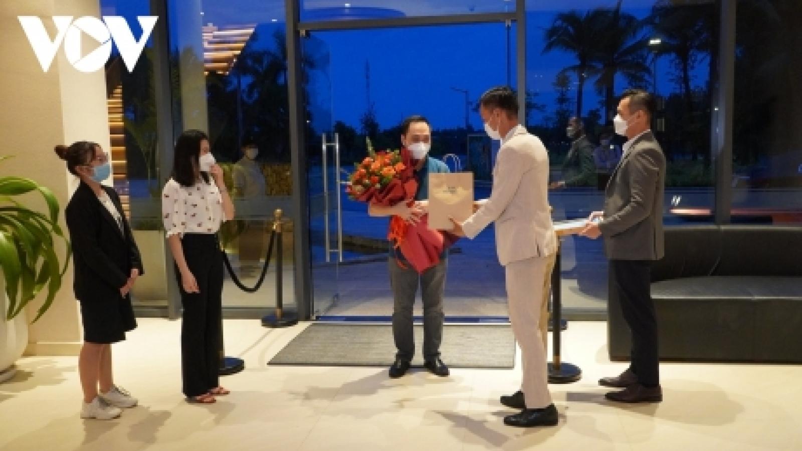 Những du khách đầu tiên đến với Bà Rịa -Vũng Tàu