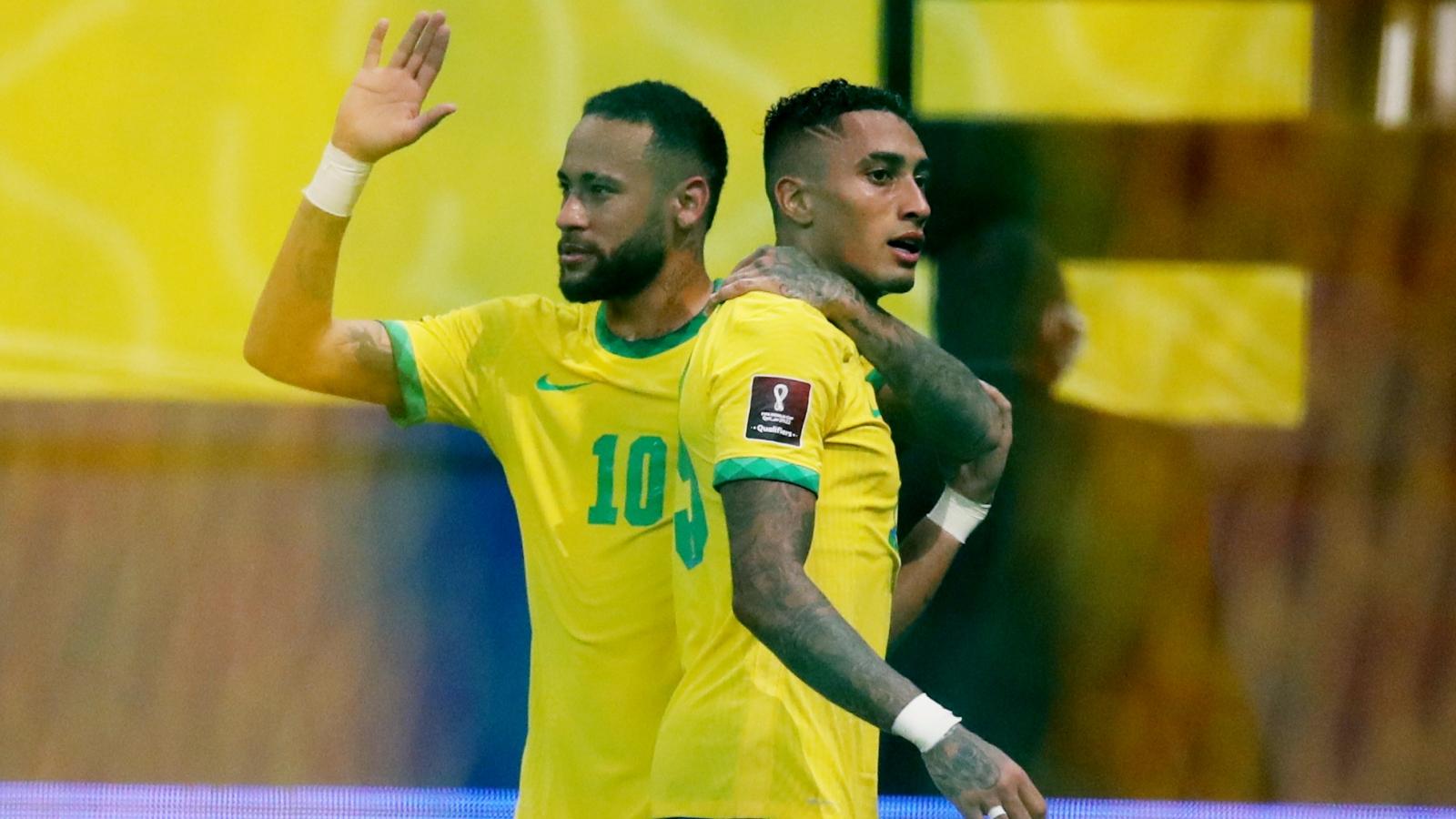 BXH vòng loại World Cup 2022 khu vực Nam Mỹ: Colombia hưởng lợi nhờ Brazil
