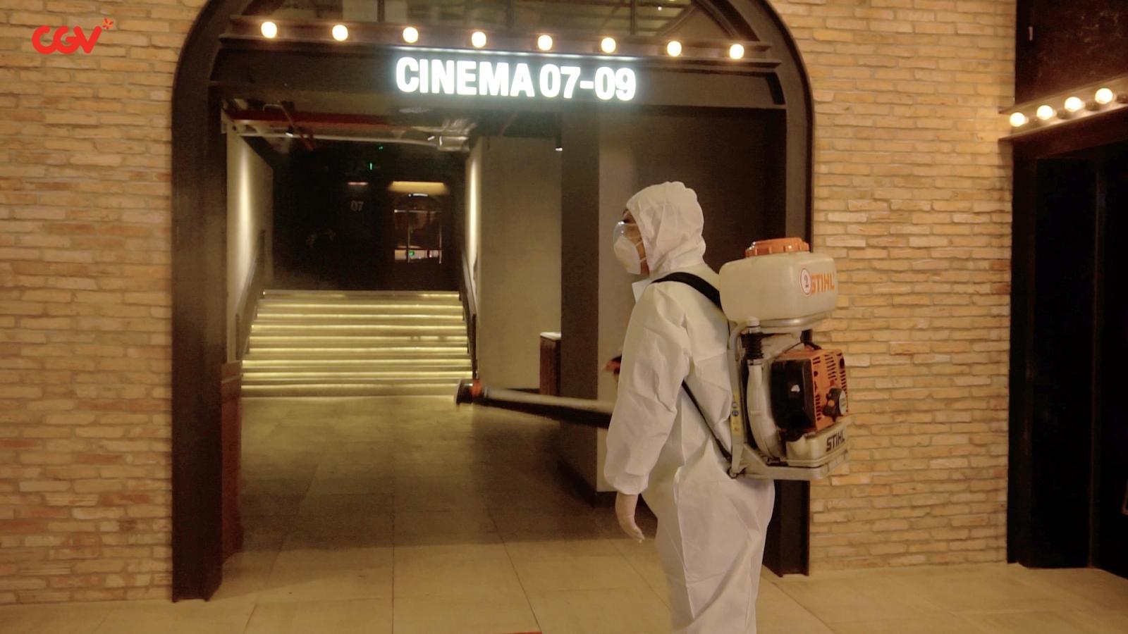 Rạp phim Việt sẵn sàng mở cửa trở lại