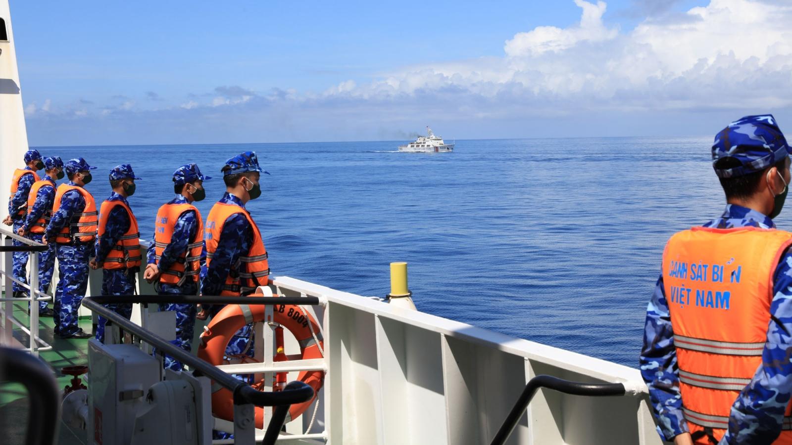 Kết thúc tuần tra liên hợp giữa Cảnh sát biển Việt Nam và Trung Quốc