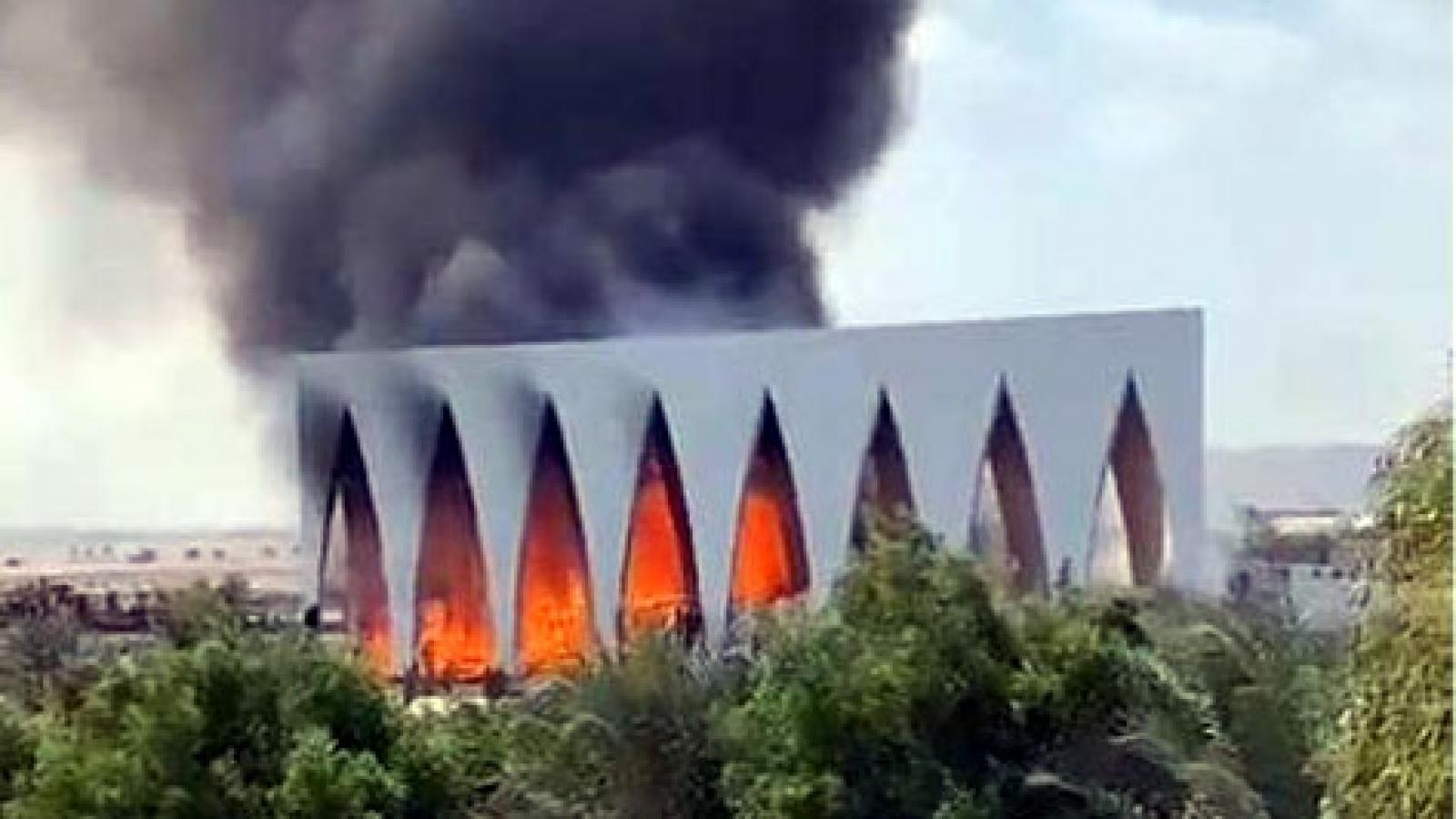 Cháy lớn tại Liên hoan phim El Gouna (Ai Cập)