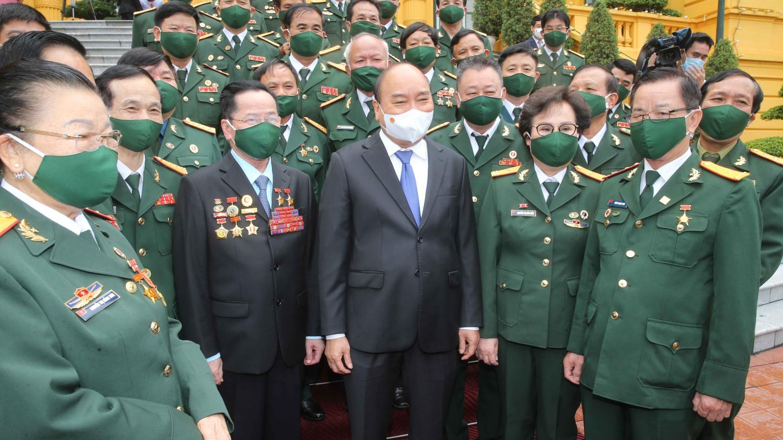 Chủ tịch nước: Doanh nhân cựu chiến binh đã phát huy phẩm chất cao đẹp của Bộ đội Cụ Hồ