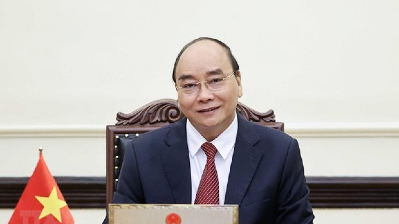 Chủ tịch nước mong Chính phủ Hoa Kỳ sẽ tiếp tục hỗ trợ Việt Nam chống Covid-19