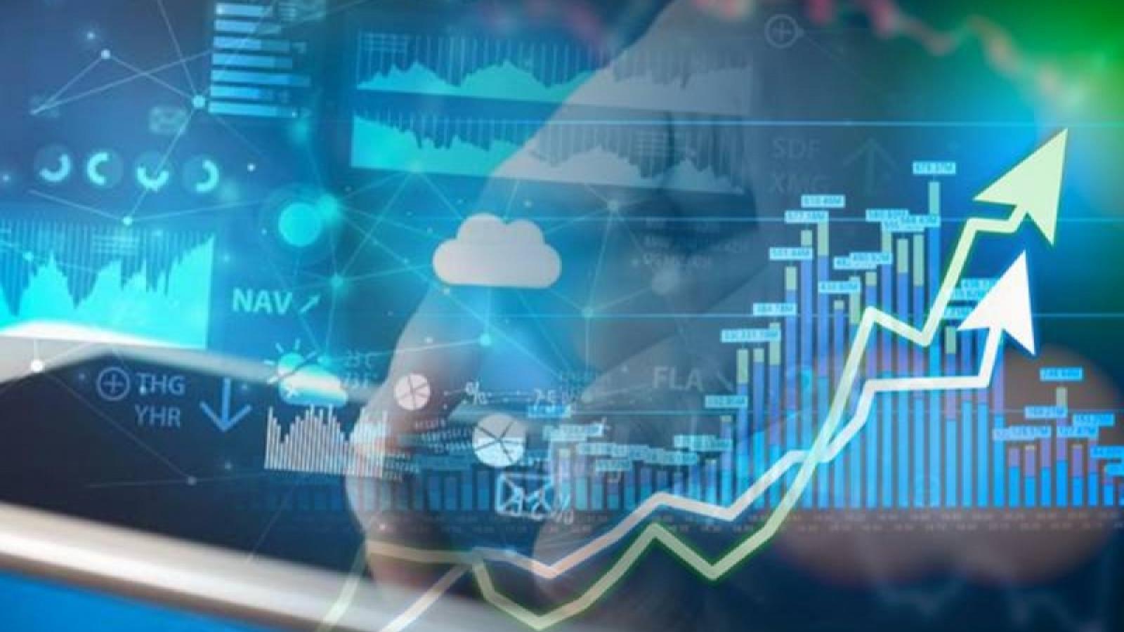 VN-Index tiếp tục tăng điểm do các nhóm vốn hóa lớn có tính dẫn dắt