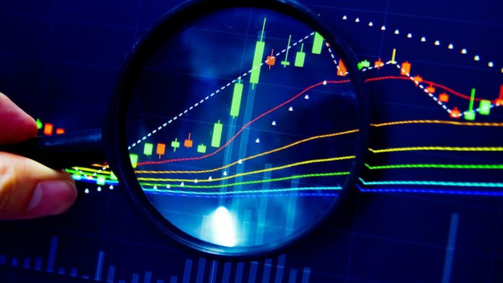 """Các cổ phiếu """"trụ"""" thuộc nhóm ngành bất động sản, ngân hàng tiếp tục đóng vai trò dẫn dắt"""