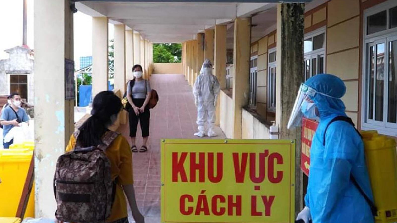 Thanh Hoághi nhận 50 ca mắc Covid-19 trong khu cách ly