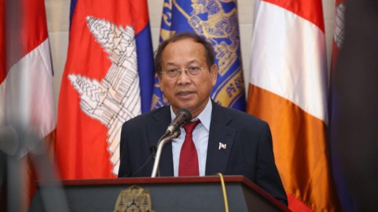 Campuchia bác bỏ cáo buộc về căn cứ của Trung Quốc tại quân cảng Ream