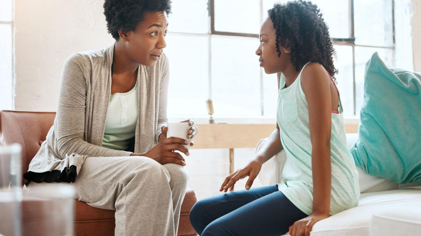 Để trẻ lắng nghe và tôn trọng bạn