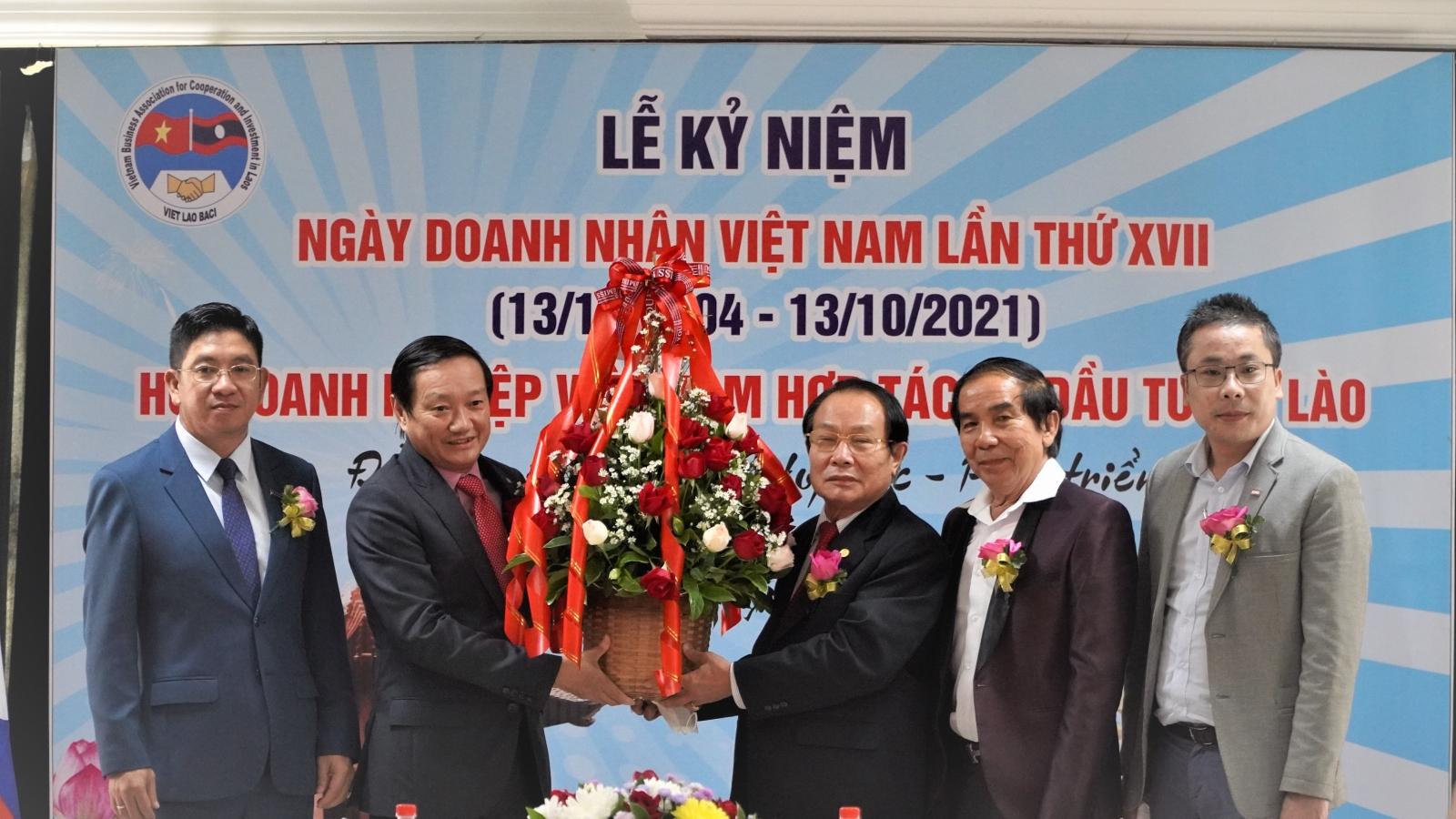 Kỷ niệm ngày Doanh nhân Việt Nam tại Lào