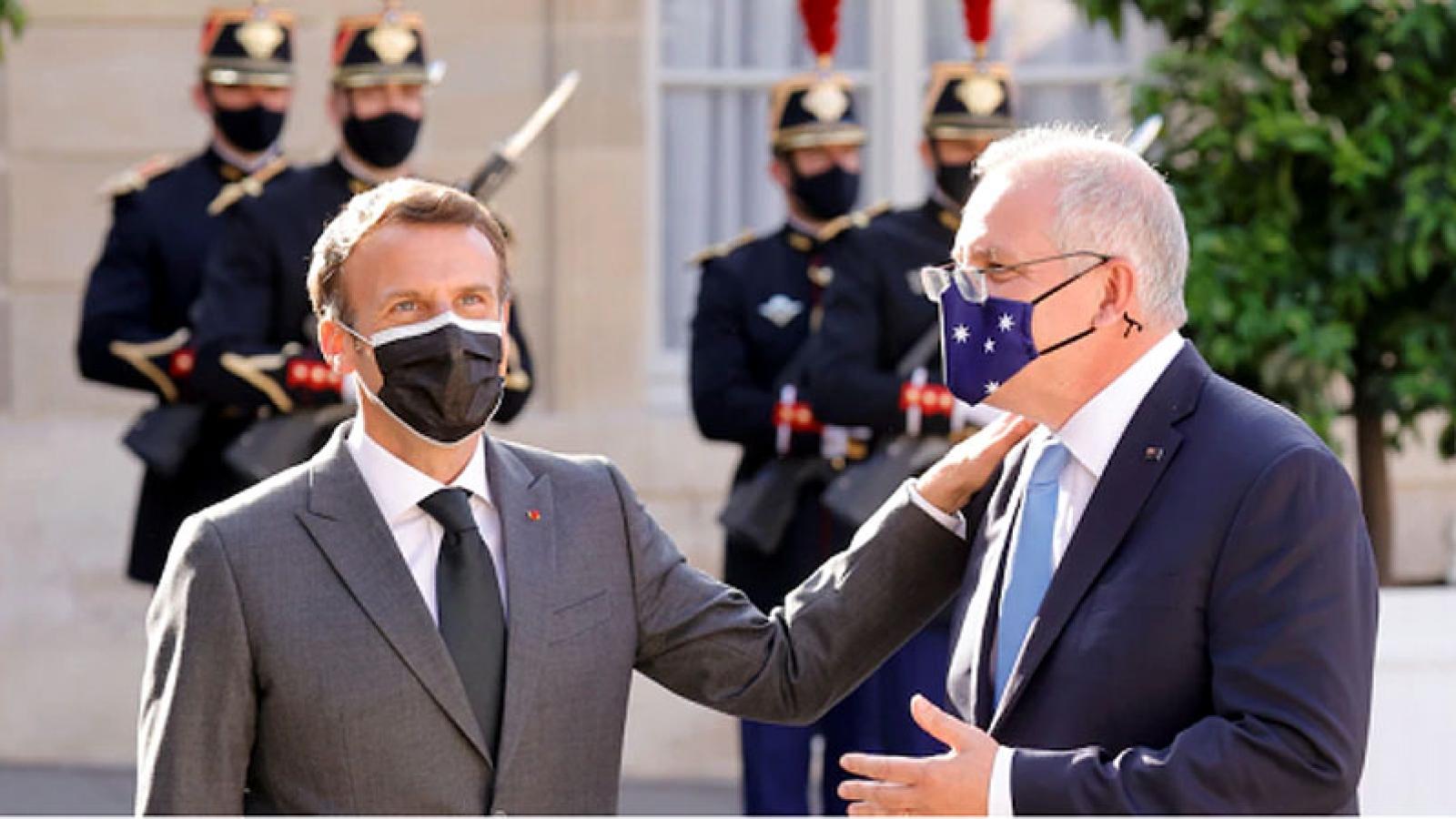 Quan hệ Australia - Pháp bắt đầu được hàn gắn sau thương vụ tàu ngầm bị hủy bỏ