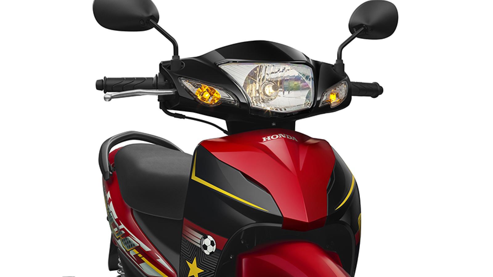 Ảnh chi tiết Honda Wave Alpha phiên bản lấy cảm hứng từ tinh thần thể thao