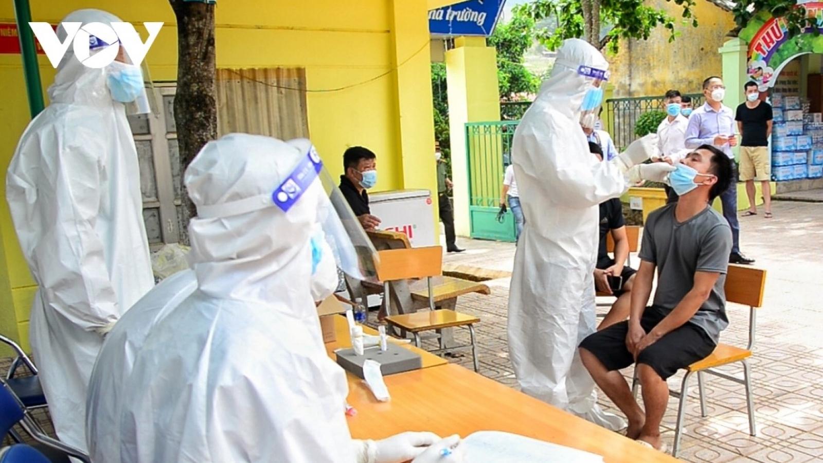 Một người từ Bình Dương về Điện Biên dương tính SARS-CoV-2