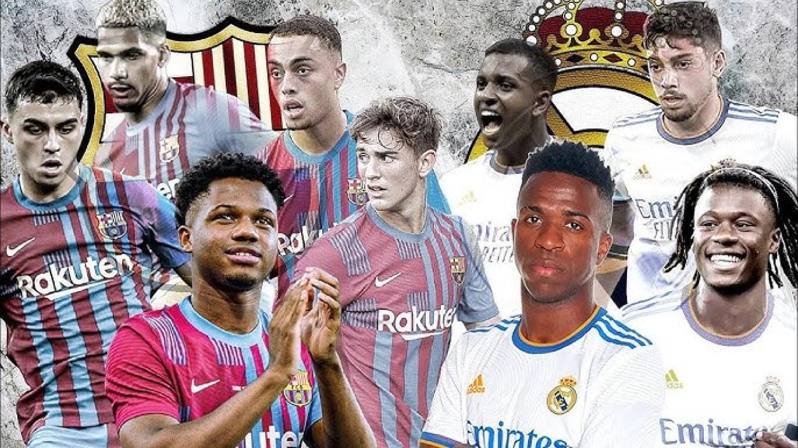 """Đội hình kết hợp lý tưởng giữa Barca và Real Madrid thời """"hậu Messi"""""""