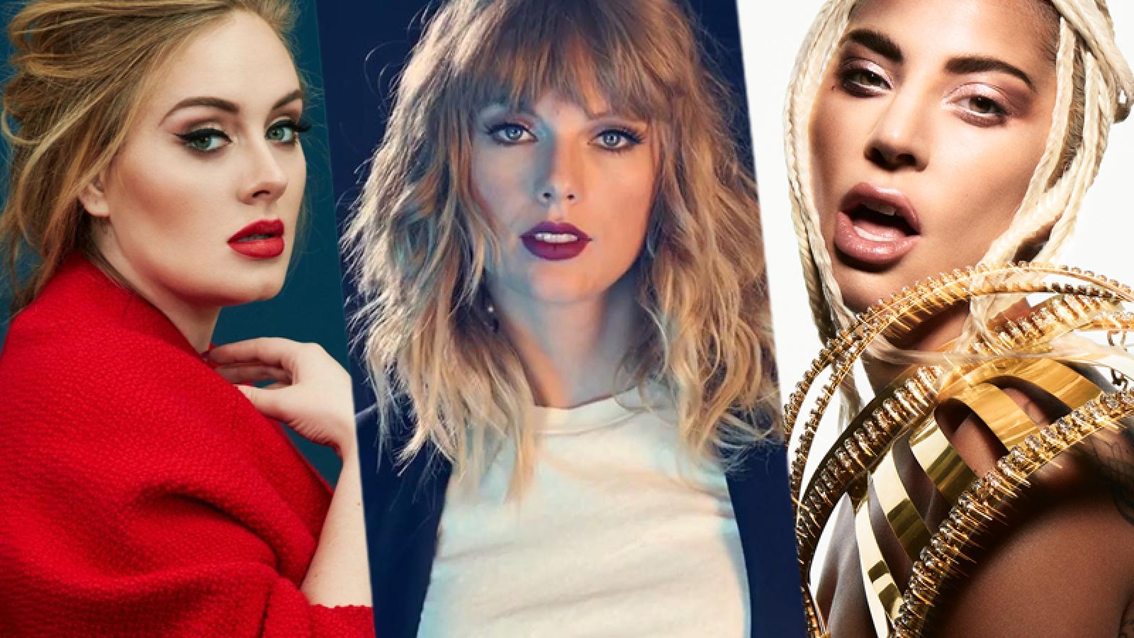 Adele, Taylor Swift, Lady Gaga ra album: Nữ giới thống trị làng nhạc cuối năm