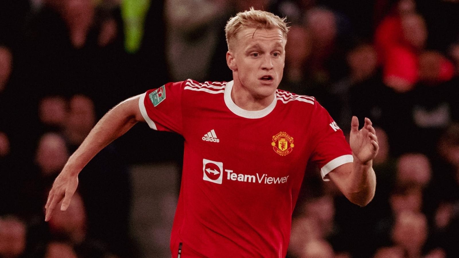 Donny van de Beek rời MU ở kỳ chuyển nhượng tháng 1/2022