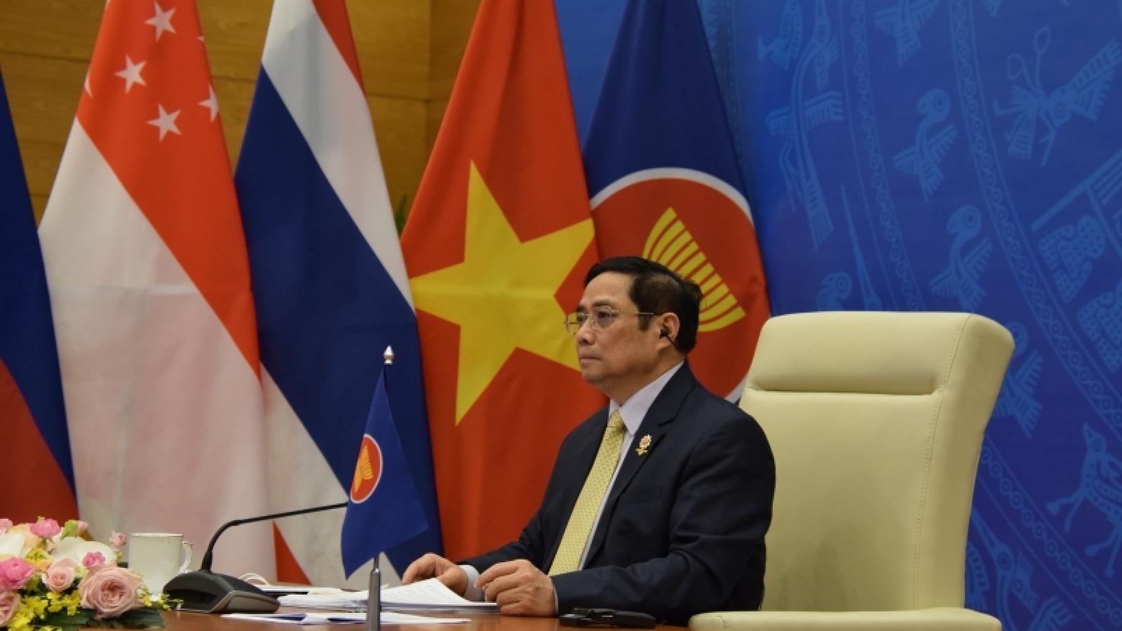 Thủ tướng dự Hội nghị cấp cao ASEAN - Trung Quốc lần thứ 24