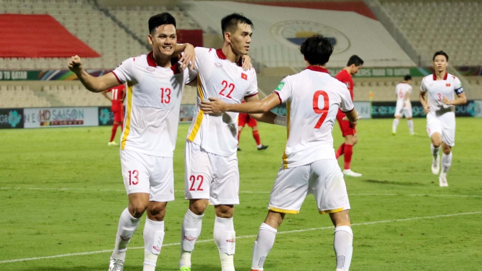 ĐT Việt Nam ghi bàn tốt hơn Thái Lan sau 4 trận ở vòng loại cuối World Cup
