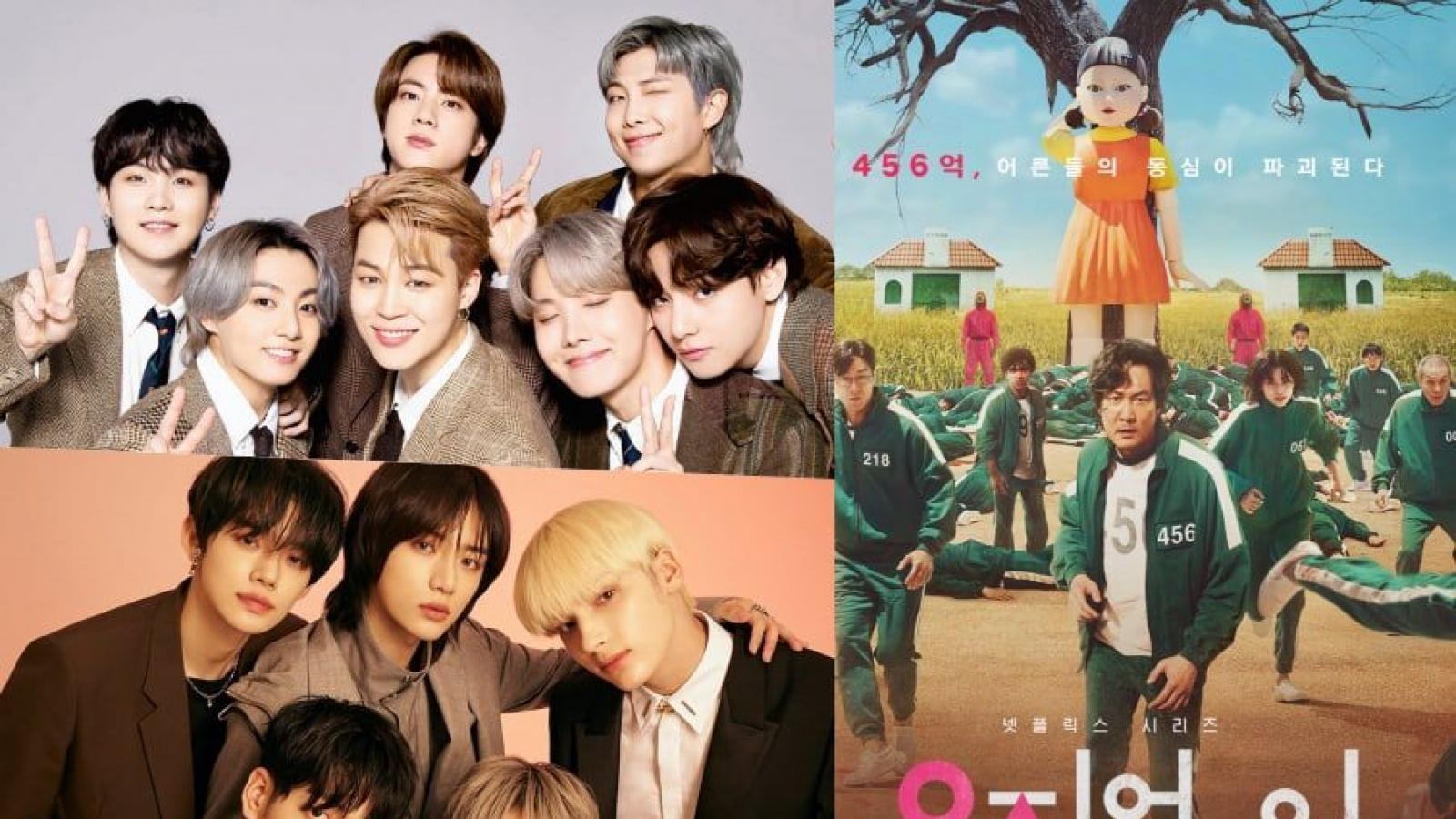 """BTS, TXT và """"Squid game"""" được đề cử giải thưởng People's Choice Awards"""