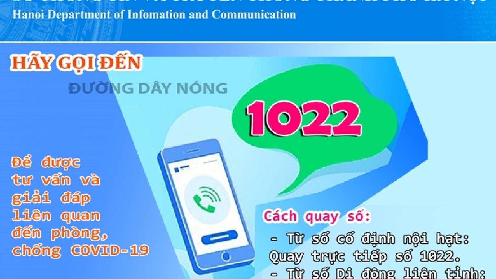 Hà Nội tiếp nhận gần 3.000 cuộc gọi đề nghị giải đáp về hỗ trợ do ảnh hưởng Covid-19
