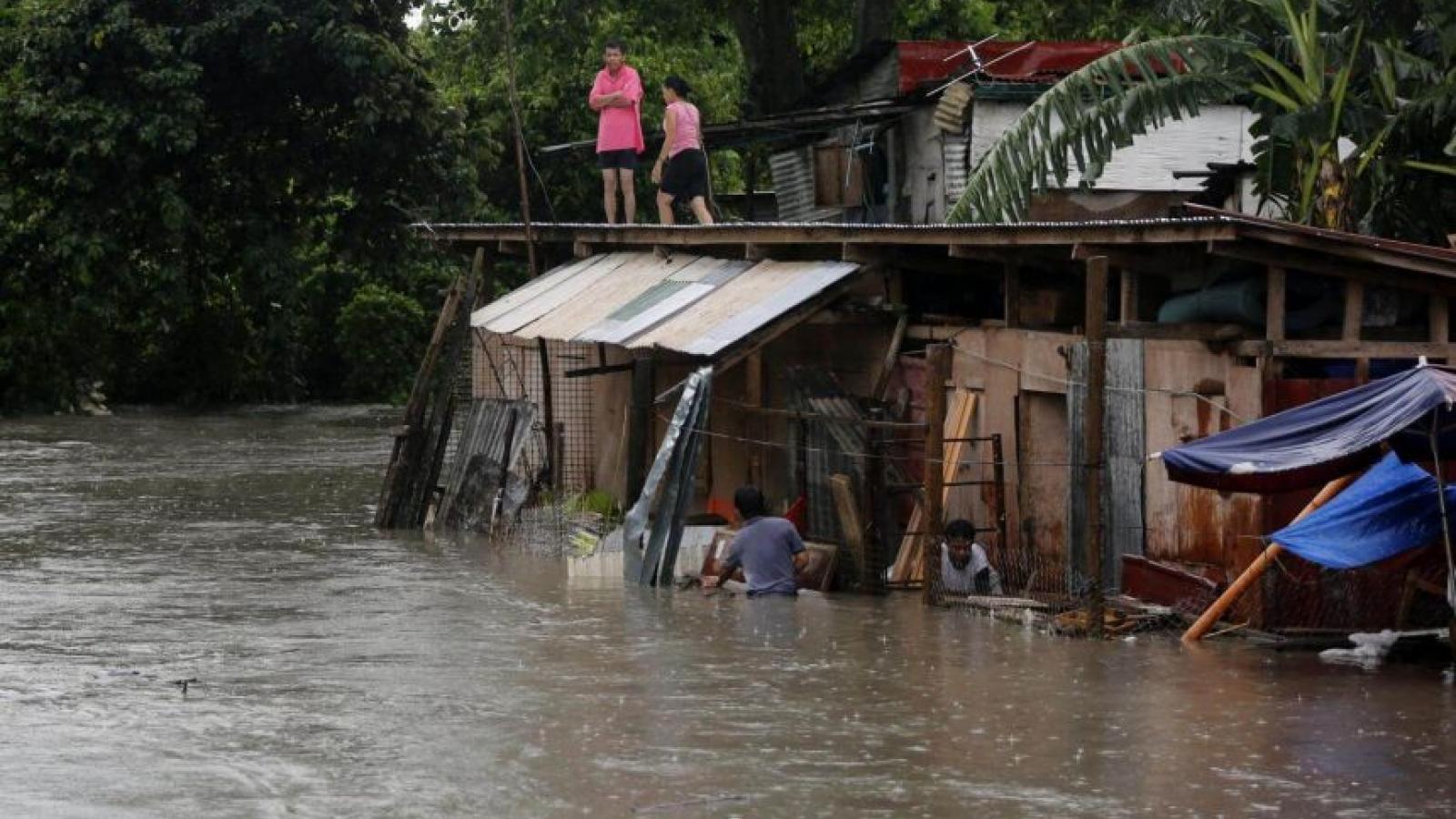 Ít nhất 9 người thiệt mạng do bão nhiệt đới Kompasu ở Philippines