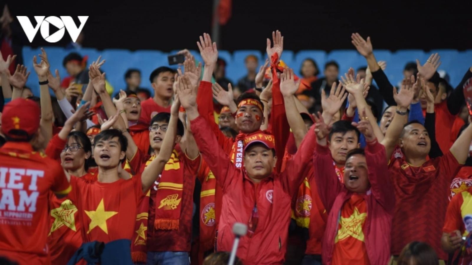 Fans can head back to stadium as Vietnam plays Japan, Saudi Arabia