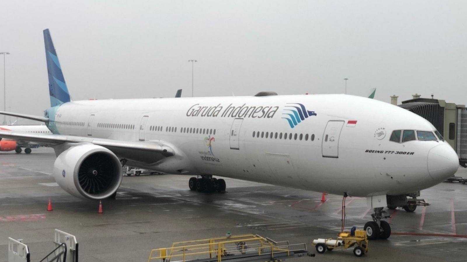 Hãng hàng không quốc gia Garuda của Indonesia trên bờ vực phá sản