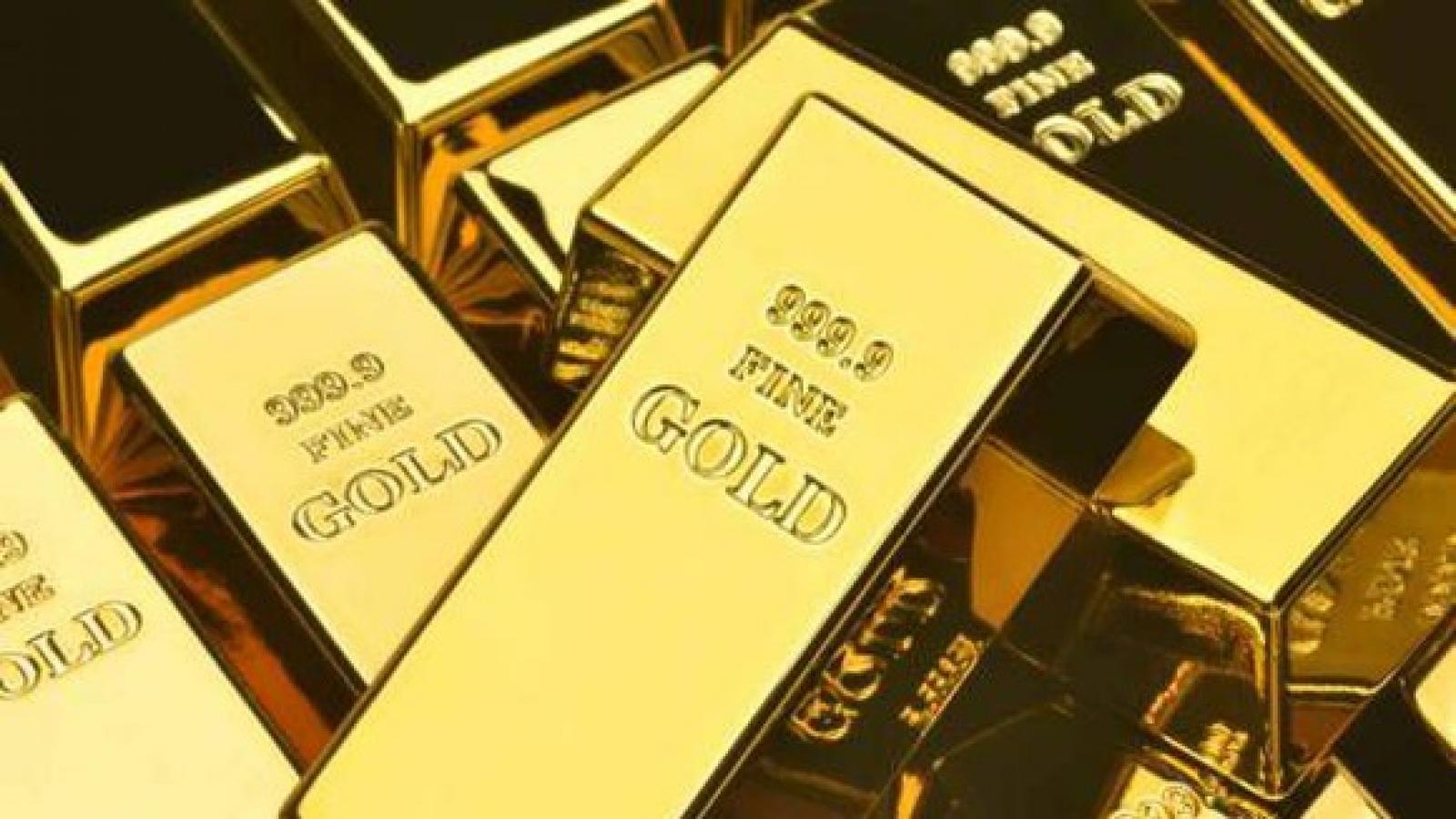 Giá vàng trong nước tiến gần tới mức 58 triệu đồng/lượng
