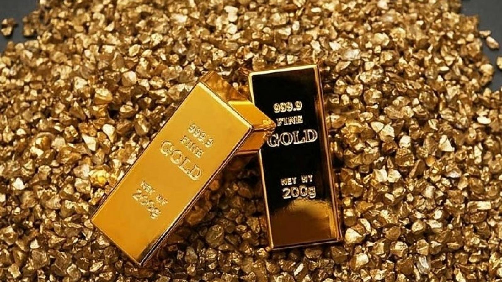 Giá vàng trong nước tăng, cao hơn giá thế giới gần 9 triệu đồng/lượng