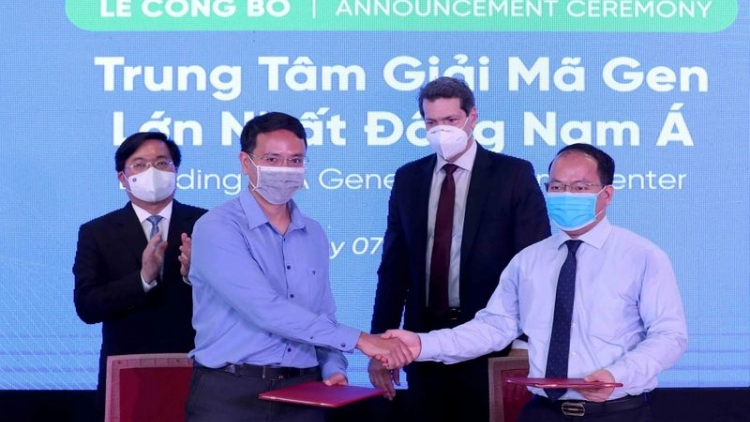 Largest SEA genome sequencing centre takes shape in Vietnam