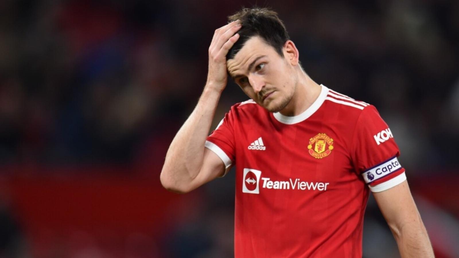 Harry Maguire xin lỗi người hâm mộ MU sau trận thua thảm Liverpool