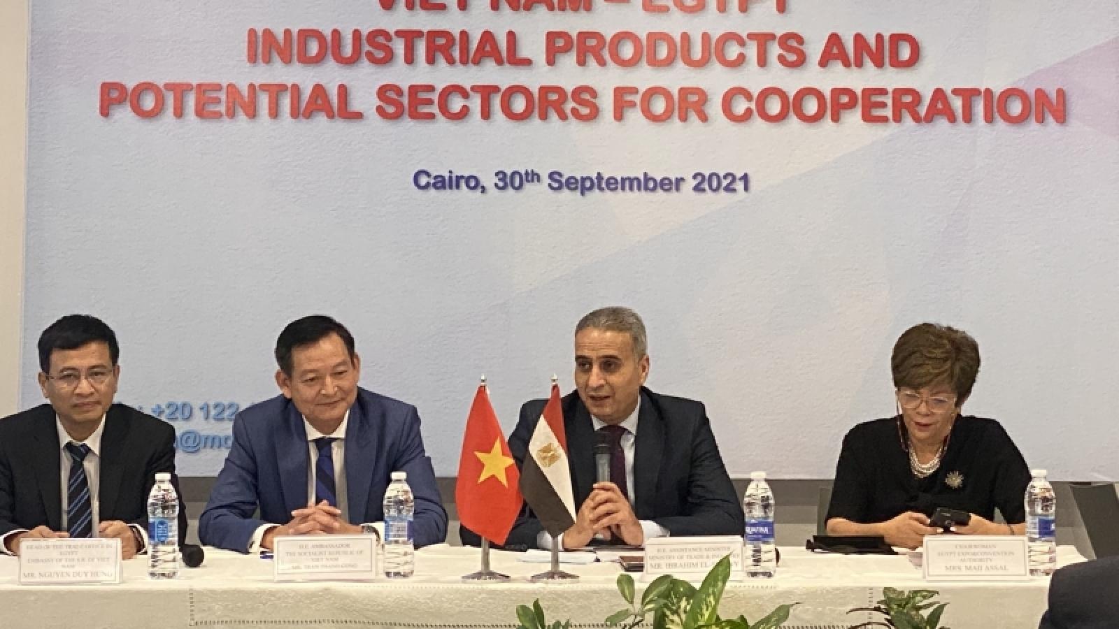 Thúc đẩy trao đổi thương mại Việt Nam - Ai Cập hậu Covid-19