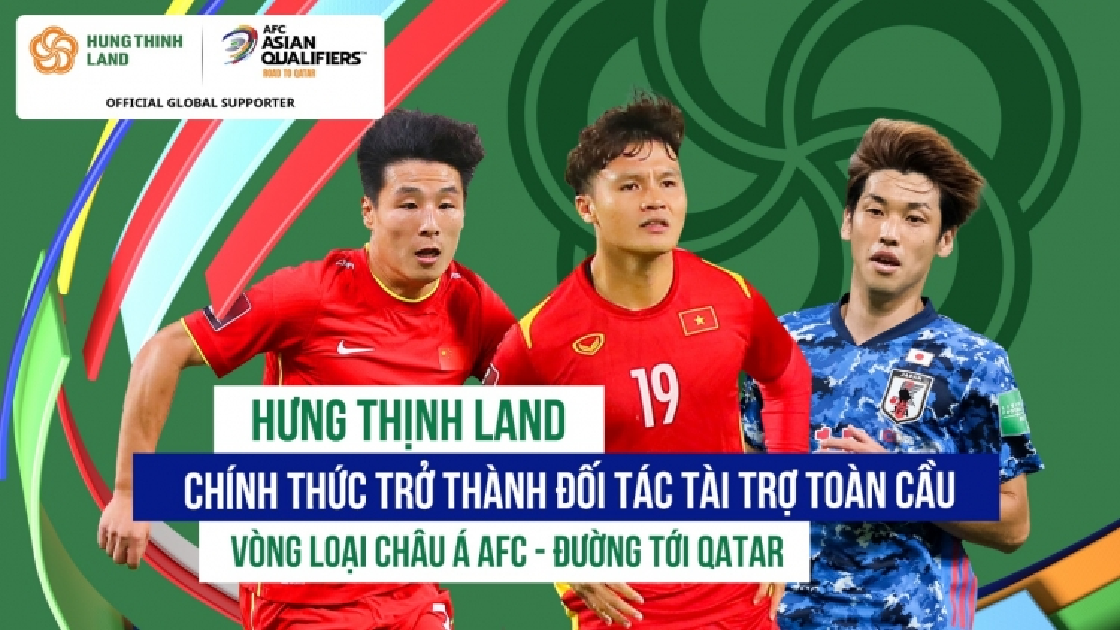 Liên đoàn bóng đá châu Á (AFC)và Hưng Thịnh Land công bố hợp tác chính thức