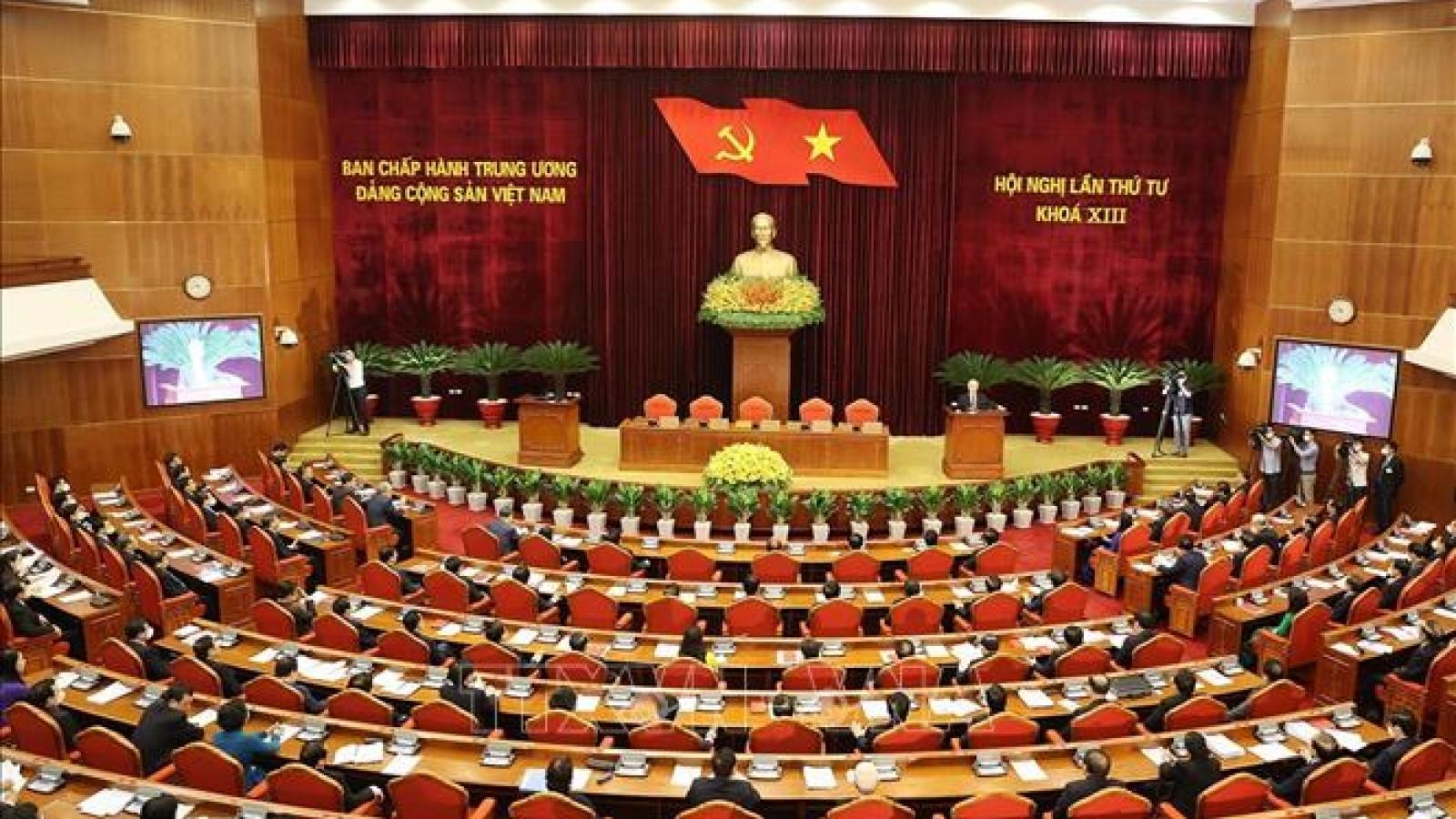 Toàn văn kết luận Hội nghị lần thứ tư BCH Trung ương Đảng khoá XIII