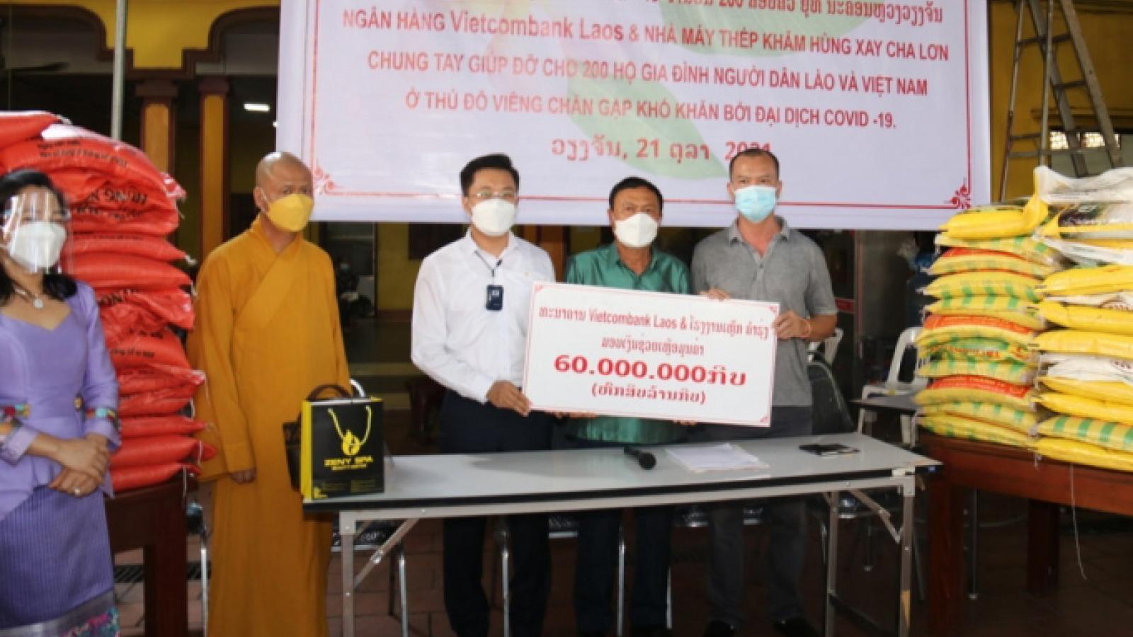 Hỗ trợ người dân Lào - Việt gặp khó khăn trong đại dịch Covid-19