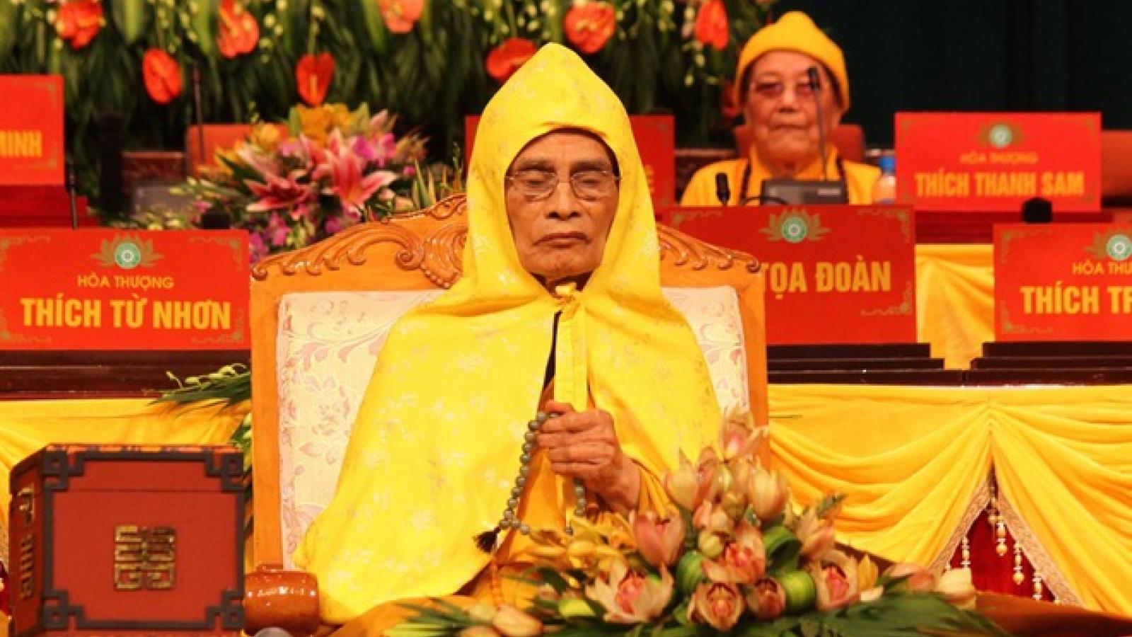 Lễ tang Hòa thượng Thích Phổ Tuệ tổ chức theo tinh thần Ngài di huấn