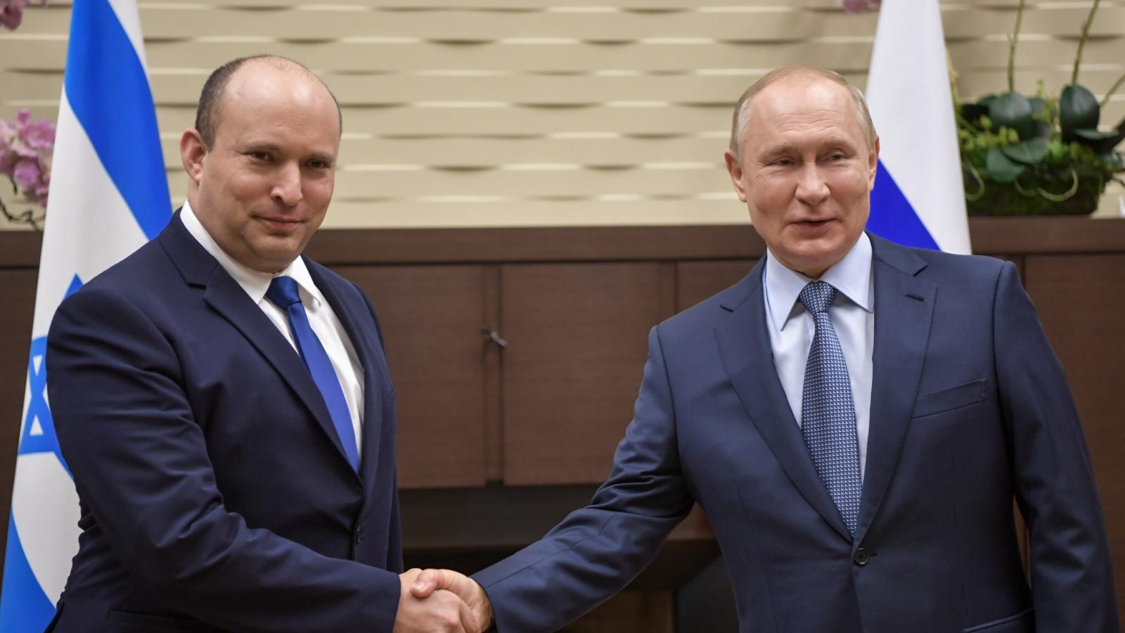 Cuộc gặp 5 giờ đồng hồ giữa Tổng thống Nga và Thủ tướng Israel