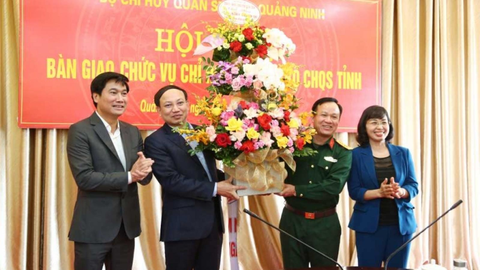 Đại tá Khúc Thành Dư giữ chức Chỉ huy trưởng Bộ Chỉ huy Quân sự tỉnh Quảng Ninh