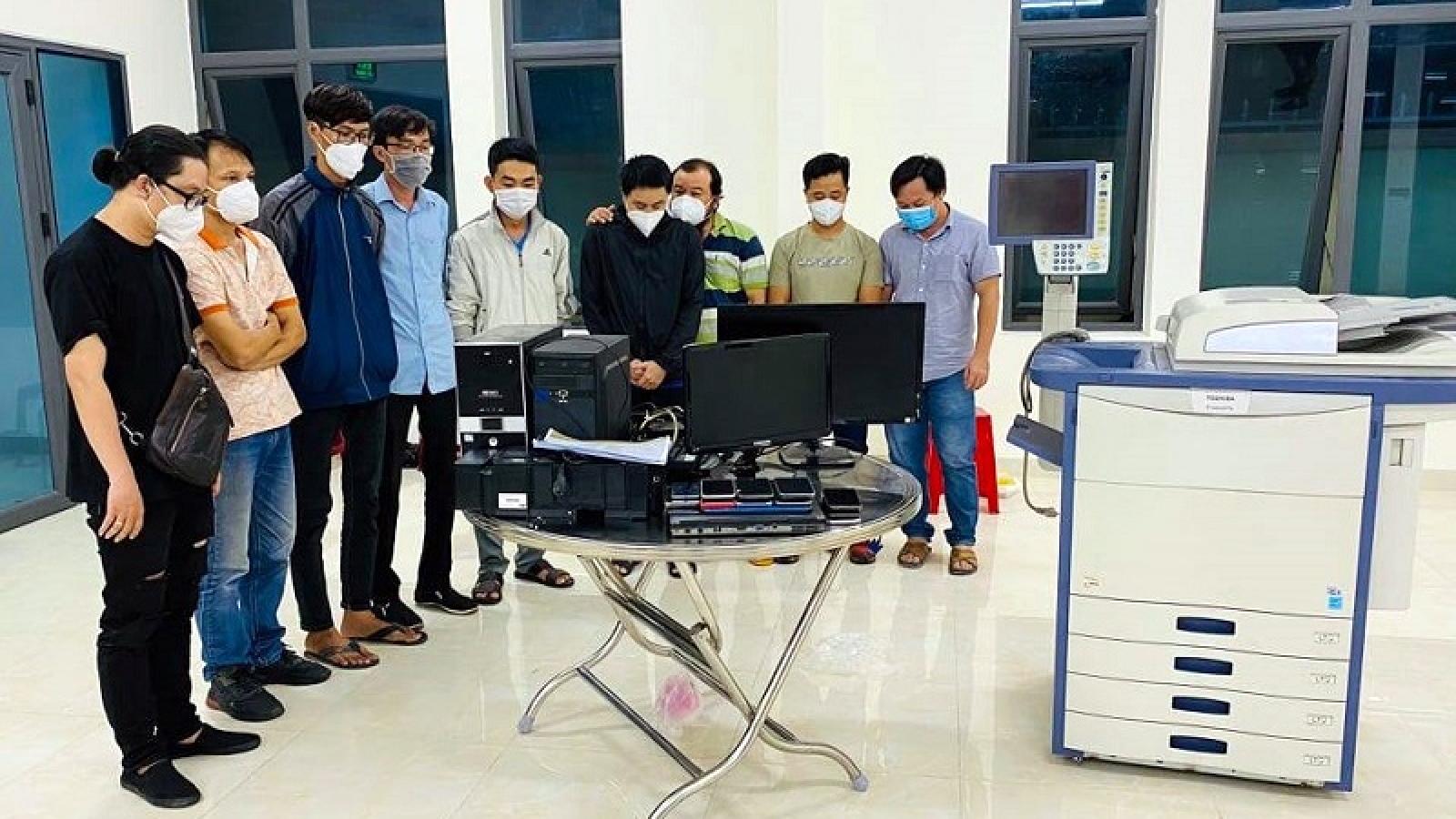 Khởi tố 2 đối tượng làm giả giấy xét nghiệm Covid-19 ở Bình Thuận