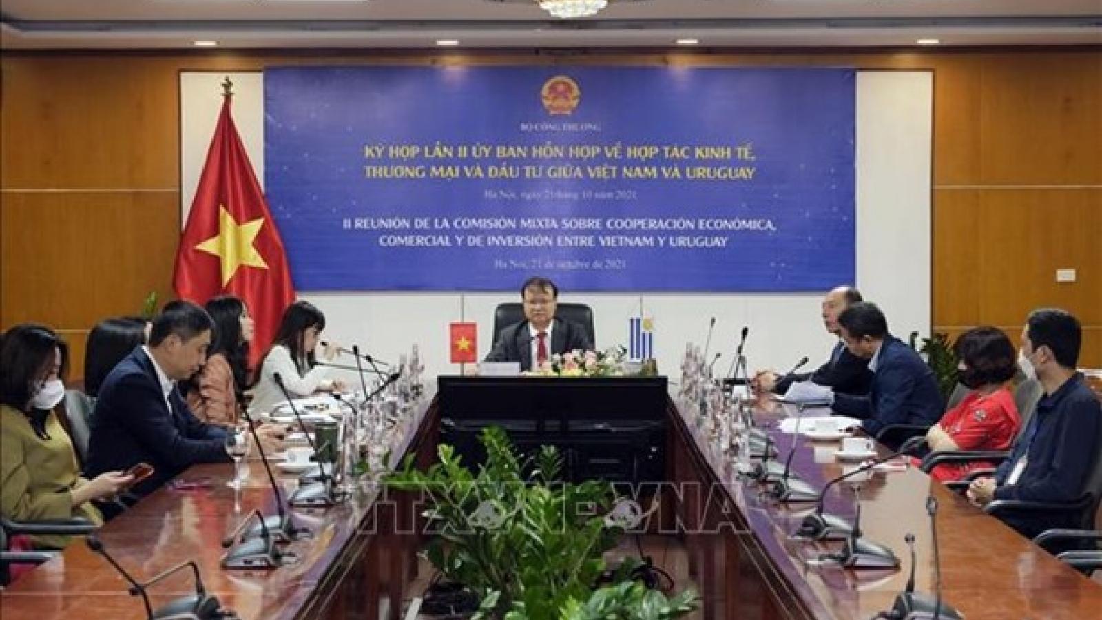 Vietnam, Uruguay eye stronger economic cooperation